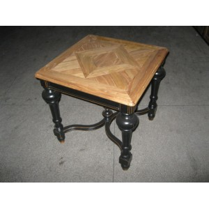 PARQUET TEA TABLE