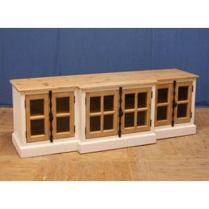 4 DOOR LATCH TV CABINET