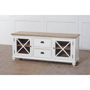 2 DOOR 2 DRAWER TV CABINET