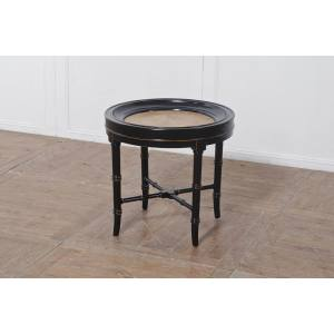 PARQUET ROUND SMALL COFFEE TABLE