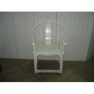 ROUND BACKED ARM CHAIR