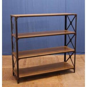 IRON BOOKCASE