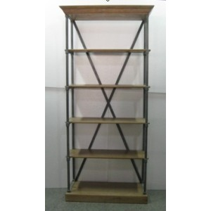 X BACK DISPLAY CABINET