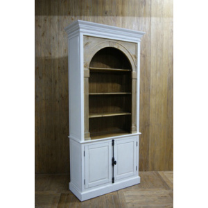 2 DOOR BOOKCASE
