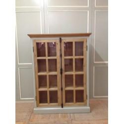 2 DOOR BOOKCASE