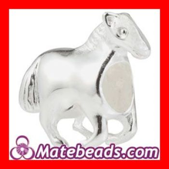 Zable Bead Charms|Zable Sterling Silver Horse Beads