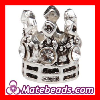 2012 Metal Pandora Crown Beads Charm For Jewelry Making Cheap