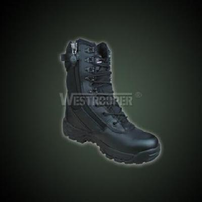BLACK ALL ZONE TAC BOOTS