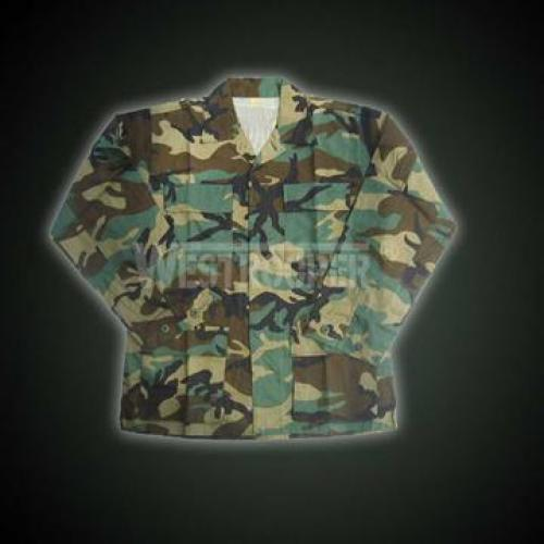 US BDU JACKET WOODLAND