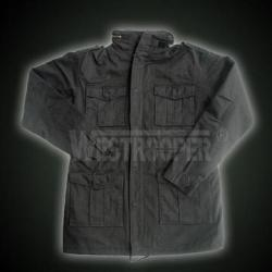 M65 JACKET STONE WASHED BLACK