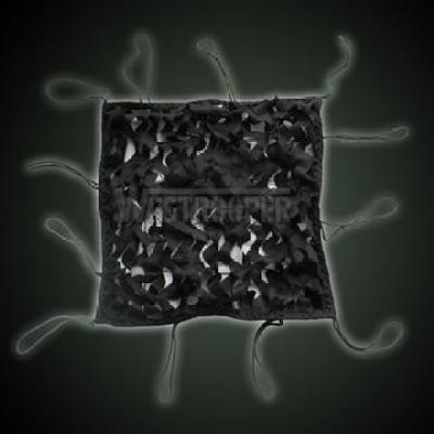CAMOUFLAGE NETTING BLACK