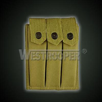 Thompson submachinegun 3 cell Magazine Pouch