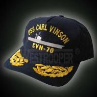 CVN70 AIRCRAFTS CARRIER CAPS