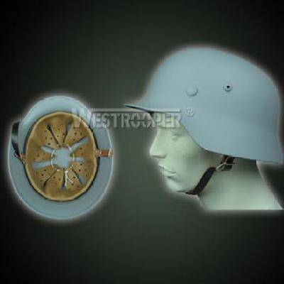 WWII M35 GERMAN INFANTRY HELMETS GRAY