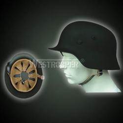 WWII M35 GERMAN INFANTRY HELMETS BLACK