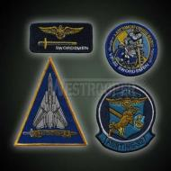 US SWORDSMEN FLYING BADGES