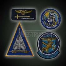 US SWORDSMEN FLYING BADGES