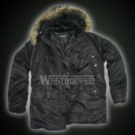 US N3B PARKA BLACK