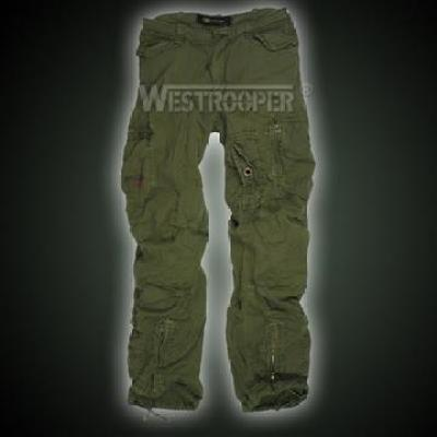 WINNER VINTAGE CARGO PANTS - china Pants manufacturer - WESTROOPER