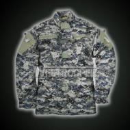 ACU JACKET WITH EPAULETTE OCEAN