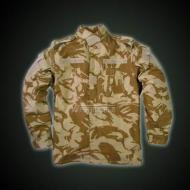 ACU JACKET WITH EPAULETTE BRITISH DESERT
