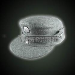 M43 grey wool SS field cap