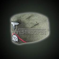 M38 grey wool SS gunner overseas cap