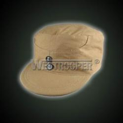 Chinese army summer yellow cap