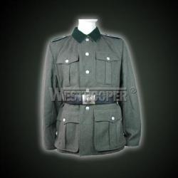 WWII M36 grey wool officer service tunic