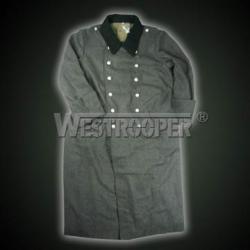 M36 grey wool overcoat