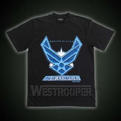 US AIR FORCE SHIRTS IN BLACK