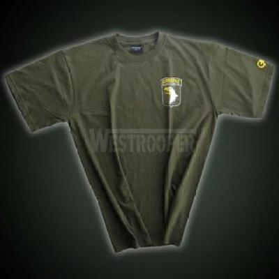 101 AIRBORNE SHIRTS IN OLIVE