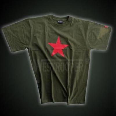 RED STAR SHIRTS IN OLIVE