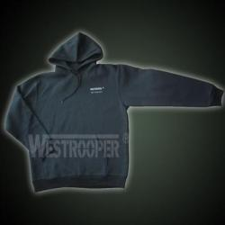 WESTROOPER HOODED SWEATSHIRT BLACK