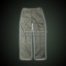 French F1 Olive Pants