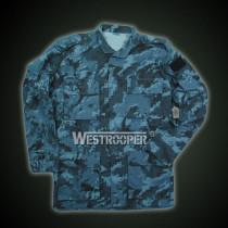 Acu jacket with epaulette