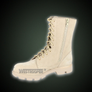 Desert tactical boots with zipper