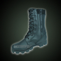 All leather jungle boots