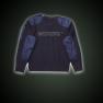 Round collar pullover