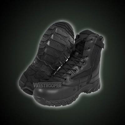 Tactical Boots 70-1710 black genuine leather cordura boots