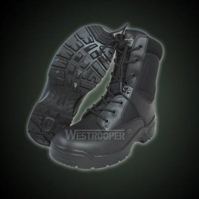 TACTICAL BLACK LEATHER BOOTS 70-1755