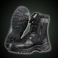 TACTICAL BLACK LEATHER BOOTS 70-1718