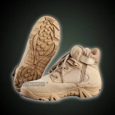 ARMY COW SUEDE LEATHER COMBAT SHOES