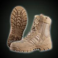 TACTICAL COW SUEDE LEATHER BOOTS