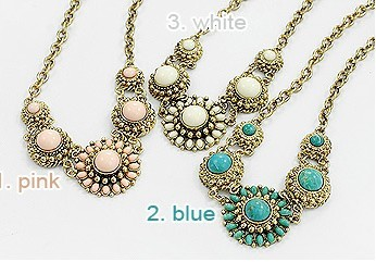 Vintage Bronze Color Sunflower Necklace Best For Gift N-0064