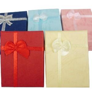 Wholesale 30 Pcs Jewelry Bowknot Rose Big Gift Box Case X-0003