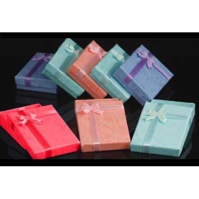 Lots 15 Pcs Rectangle Jewelry Gift Square Box Case X-0002
