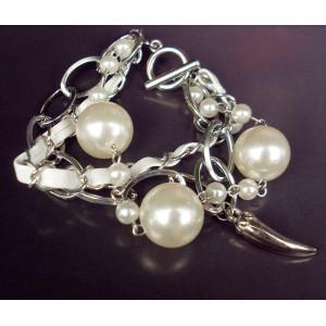 Cute Big Pearly Capsicum Multi Layers Bracelet