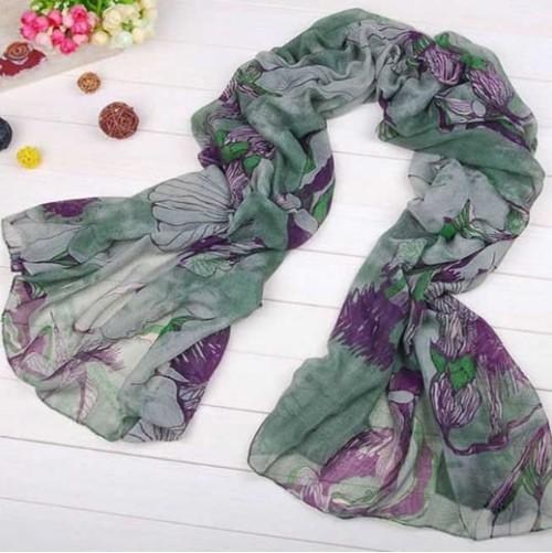 Fashion 6 Colors Nylon Scarves  C-0026