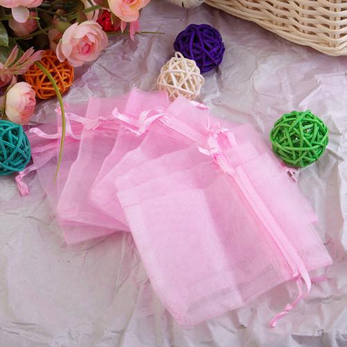 Lots Wedding Gift Pouch Organza Bags 17cm*23cm G-0006